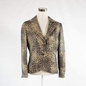 Frascara gold blazer jacket 10